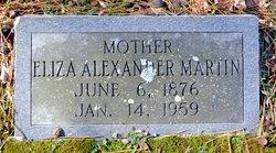 "Eliza Francis ""Fannie"" <I>Bailiff</I> Alexander"