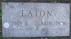 Kathleen M. Eaton