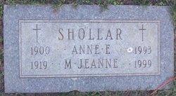 Anne Elizabeth <I>Connor</I> Shollar