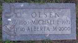 Alberta M. Olsen