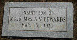 Infant Son Edwards