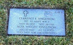 PFC Clarence Elmer Tingstrom