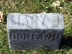 Mary Jane <I>Huyck</I> Dorland