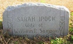 Sarah Jane <I>Ipock</I> Sammons