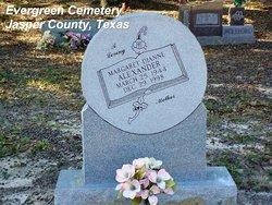 Margaret Dianne <I>Grissom</I> Alexander