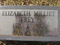 Elizabeth <I>Milliet</I> Frey