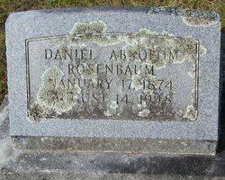 "Daniel Absolom ""Mr. Ab"" Rosenbaum"