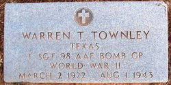 TSGT Warren Truman Townley
