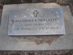 LTJG Walterina Evangeline <I>Maluda</I> Pritchett