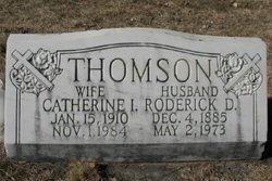 Catherine Ina <I>Gentry</I> Thomson