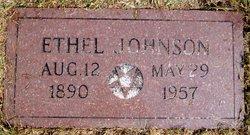 """Grace Ethel """"Ethel"""" <I>Lockwood</I> Johnson"""