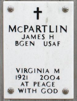 "Gen James Hugh ""Jim"" McPartlin"
