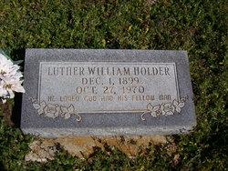Luther William Holder
