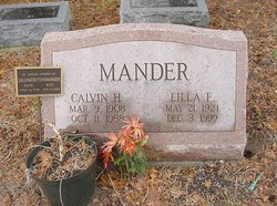 "Calvin Harry ""Dutch"" Mander"