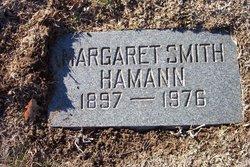 Margaret <I>Smith</I> Hamann