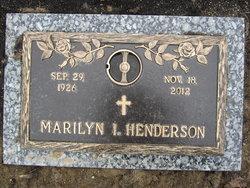 Marilyn Ilene <I>Yarian</I> Henderson