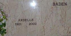 Ardelle <I>Hogue</I> Baden