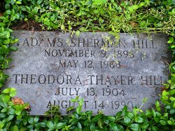 Theodora <I>Thayer</I> Hill