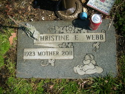 Christine E Webb