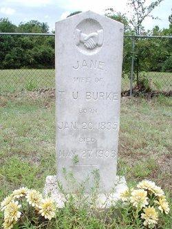Jane <I>Parisho</I> Burke