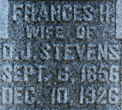 Francis H <I>Boyd</I> Stevens
