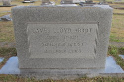 Capt James Lloyd Abbot, III