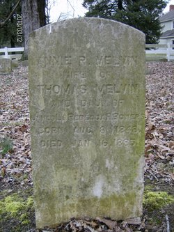 Anne Reed <I>Bowers</I> Melvin