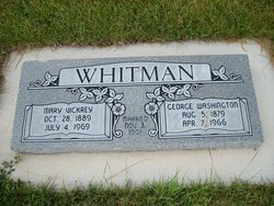 Mary Angeline <I>Vickery</I> Whitman