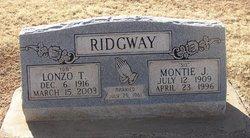 Montie Juanita <I>Allen</I> Ridgeway