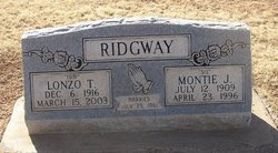 Lonzo Thomas Ridgeway