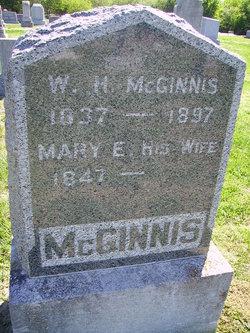 Mary E. <I>Brown</I> McGinnis