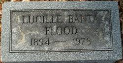 Lucille <I>Banta</I> Flood
