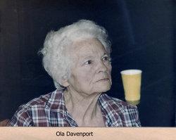 Mary Ola <I>Hobby</I> Davenport