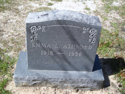 Emma Lois <I>Charlton</I> Ashford