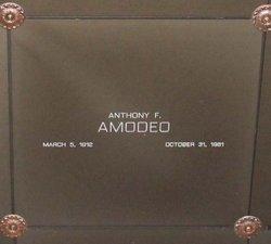 Anthony Francis Amodeo