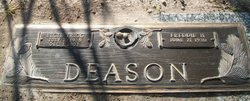 Elcie Jane <I>Trigg</I> Deason