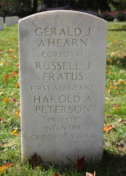 1SGT Russell J Fratus