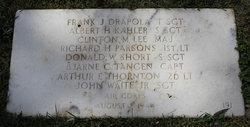 1LT Richard H Parsons