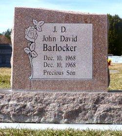 """John David """"J.D."""" Barlocker"""