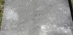 John Robertson Lawson