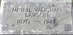 Minnie Vaughn Lawson