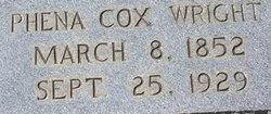 Phena <I>Cox</I> Wright