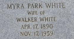 Myra <I>Park</I> White