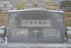 Bertie Frances <I>Hicks</I> Crank