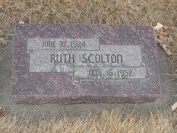 Ruth <I>Rowlands</I> Scolton