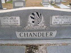 Madie <I>Kinnett</I> Chandler
