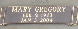 Mary <I>Gregory</I> Brown