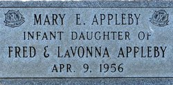 Mary E Appleby