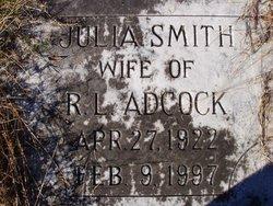 Julia <I>Smith</I> Adcock