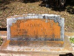 Burter <I>Baker</I> Adams